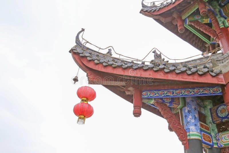 中国被遮盖的桥 免版税库存图片