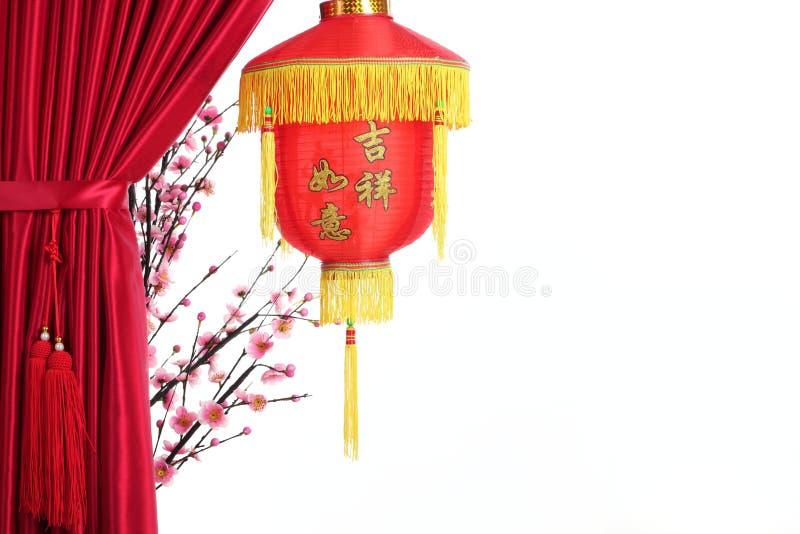 中国装饰新年度 免版税库存照片
