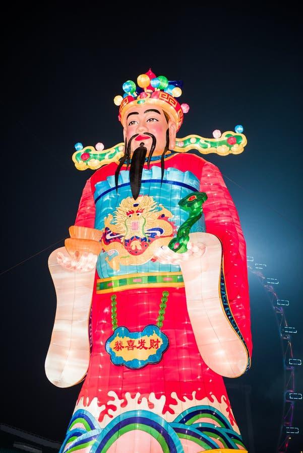 中国装饰新年度 库存照片
