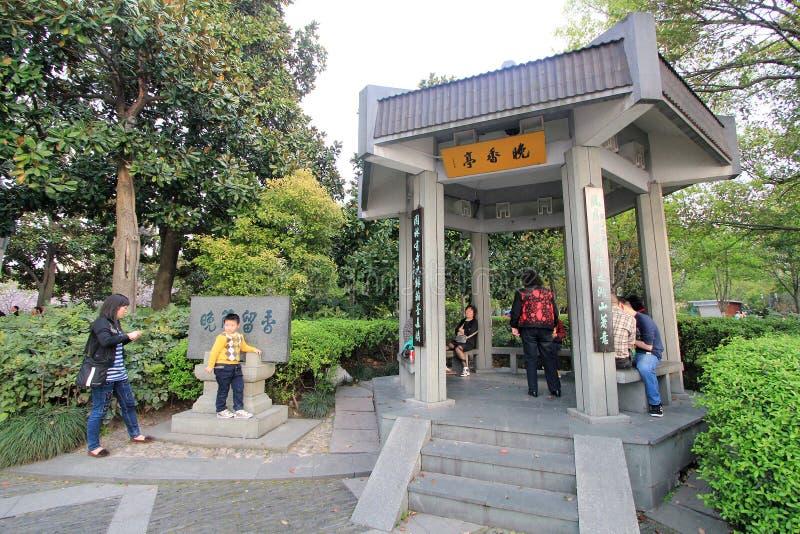 中国西湖在杭州 库存照片