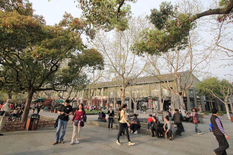 中国西湖文化风景视图 图库摄影