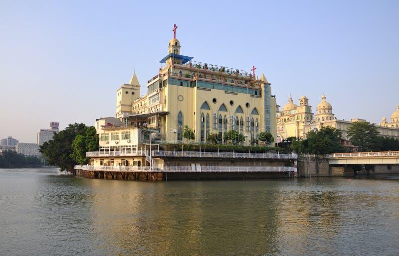 中国都市的福州 免版税库存照片