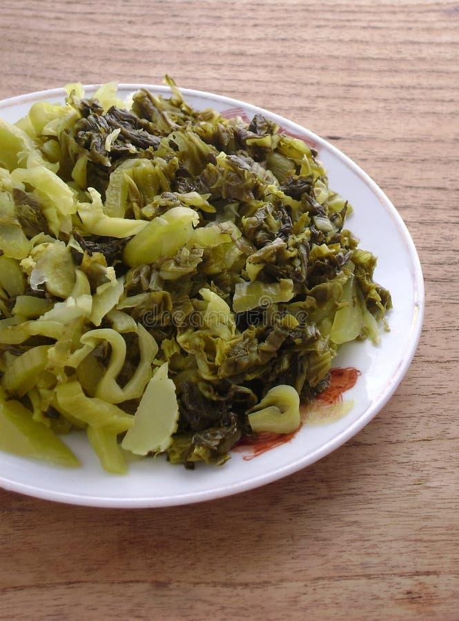 中国酸napa圆白菜 免版税库存照片