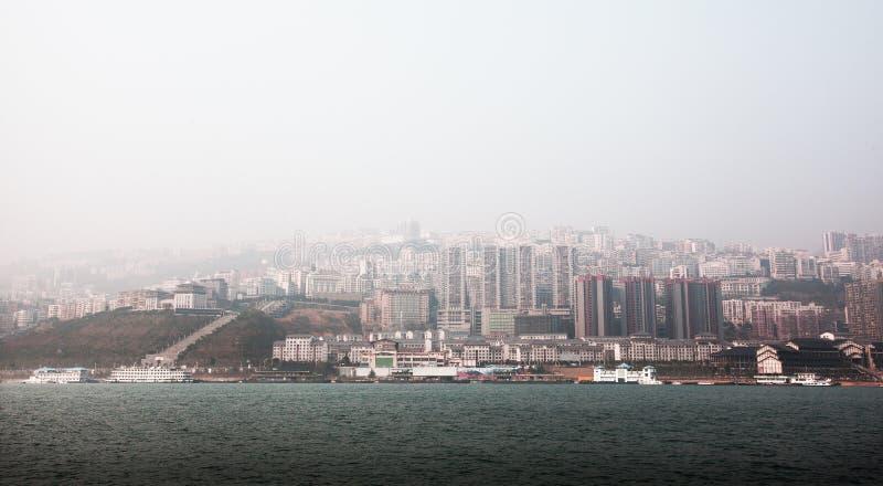 中国重庆的巫峡 免版税库存图片
