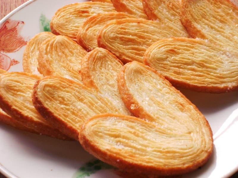 中国金黄椒盐脆饼 库存图片