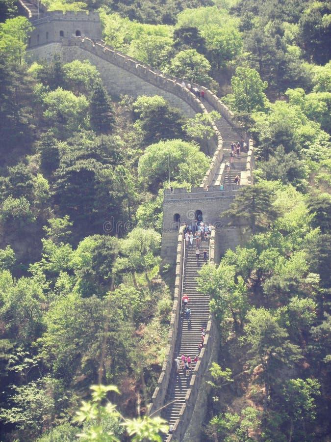 中国长城北京 免版税库存图片