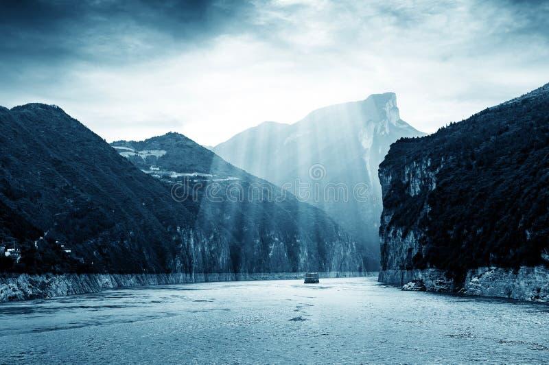 中国长江三峡  库存图片