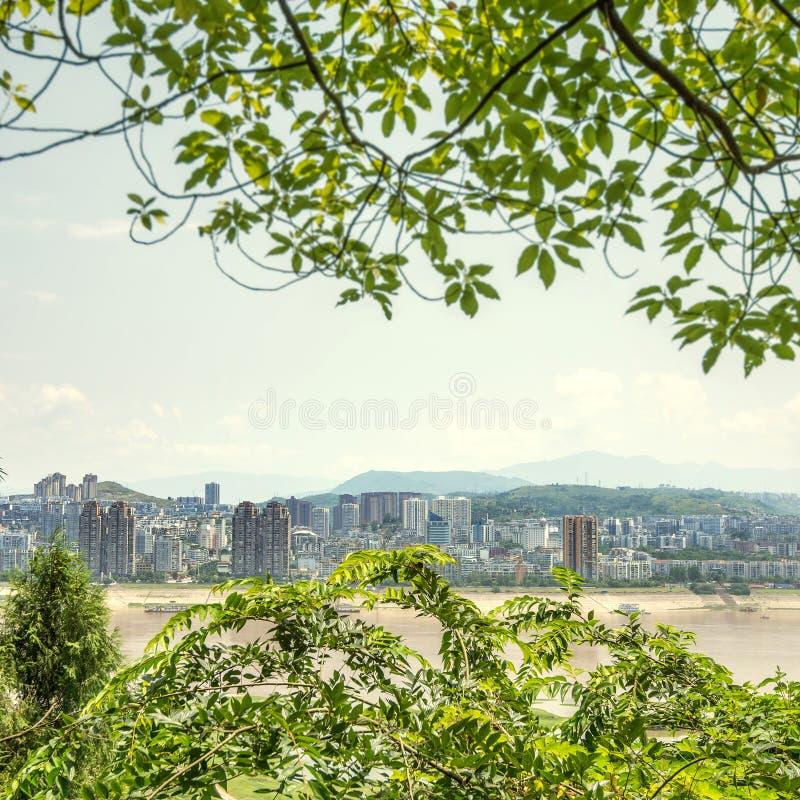 中国长江镇风景 图库摄影