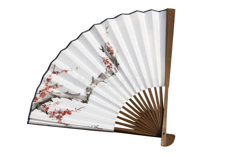 中国风扇 免版税库存照片