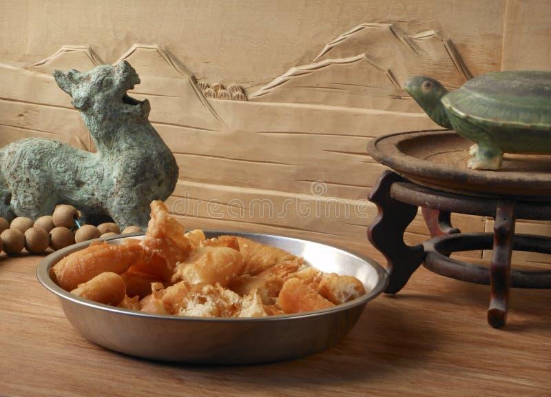 中国食物和古玩 库存图片