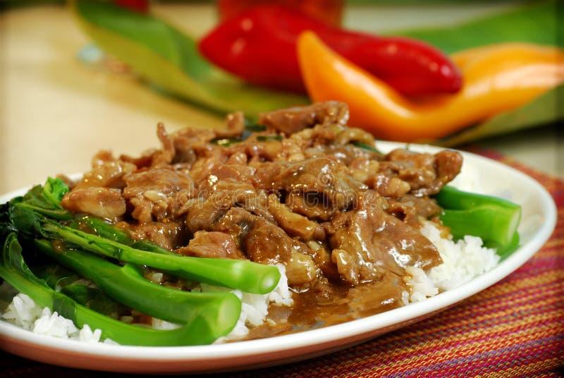 中国食物越南语 免版税库存图片