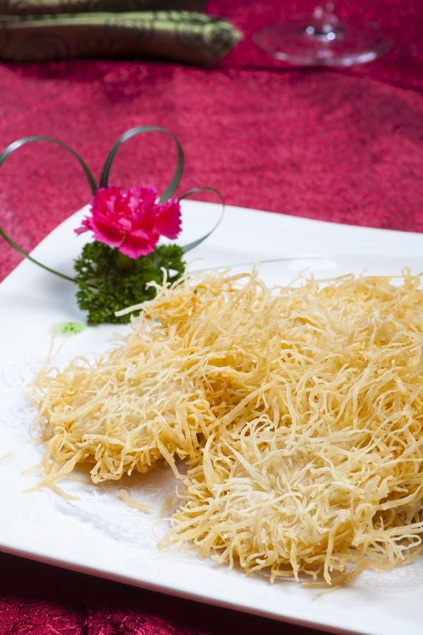 中国食物,炸面包 免版税库存图片