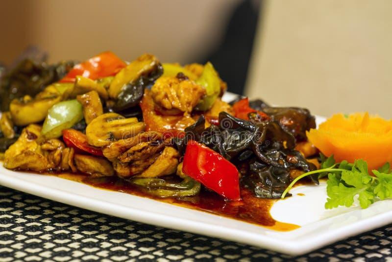 中国食物细节 库存图片