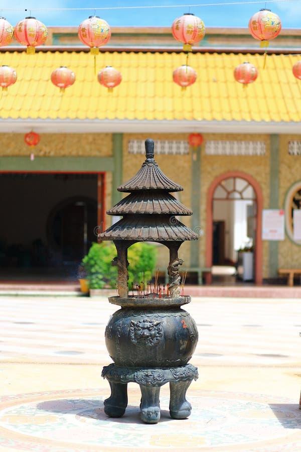 中国香炉 库存图片