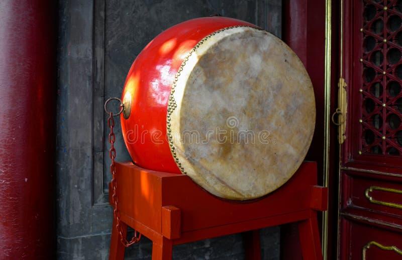 中国鼓 免版税库存照片