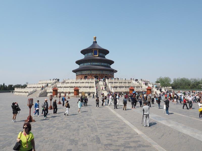 中国 北京 北京天堂寺庙 天坛 库存照片