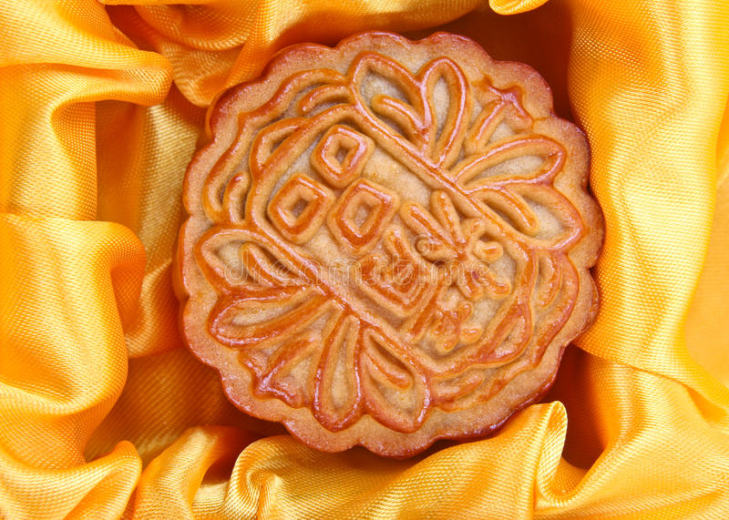 中国mooncake 免版税库存图片