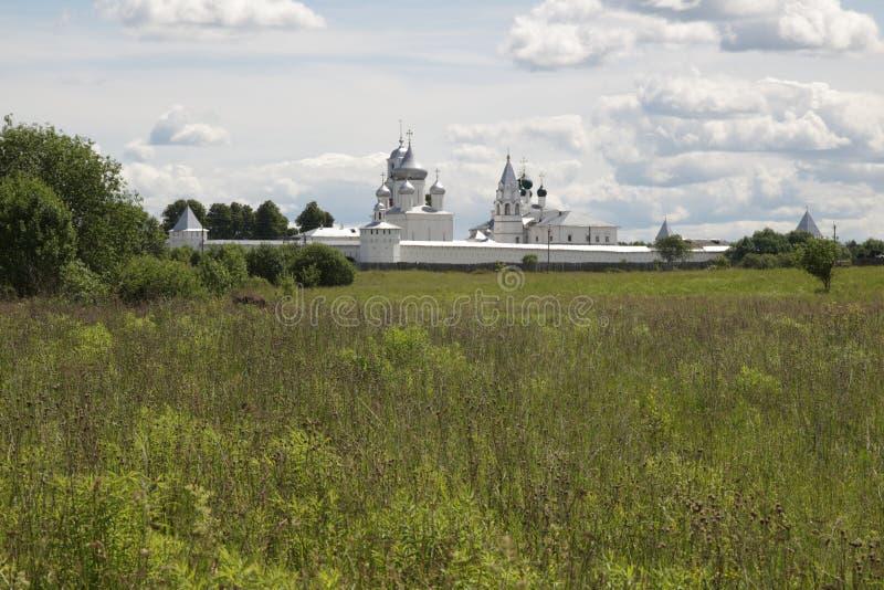 中央俄国 Nikitsky修道院在Pereslavl-Zalessky 库存图片