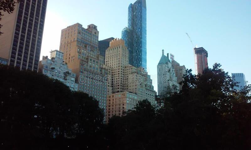 中央公园纽约美国 免版税图库摄影