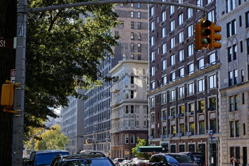 中央公园西部公寓NYC 图库摄影