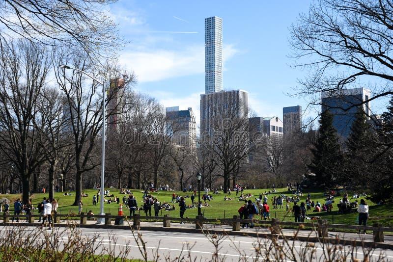 中央公园 库存图片