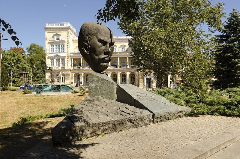 中央军事俱乐部,索非亚,保加利亚 免版税图库摄影