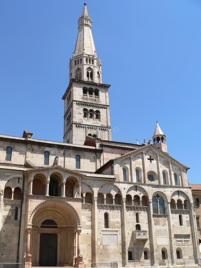 中央寺院二摩德纳(意大利) 库存图片