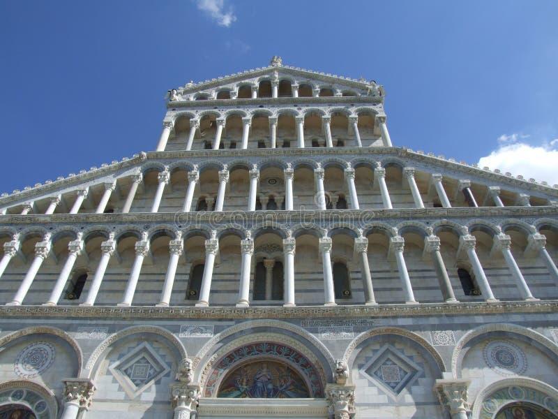 中央寺院意大利比萨 免版税库存图片