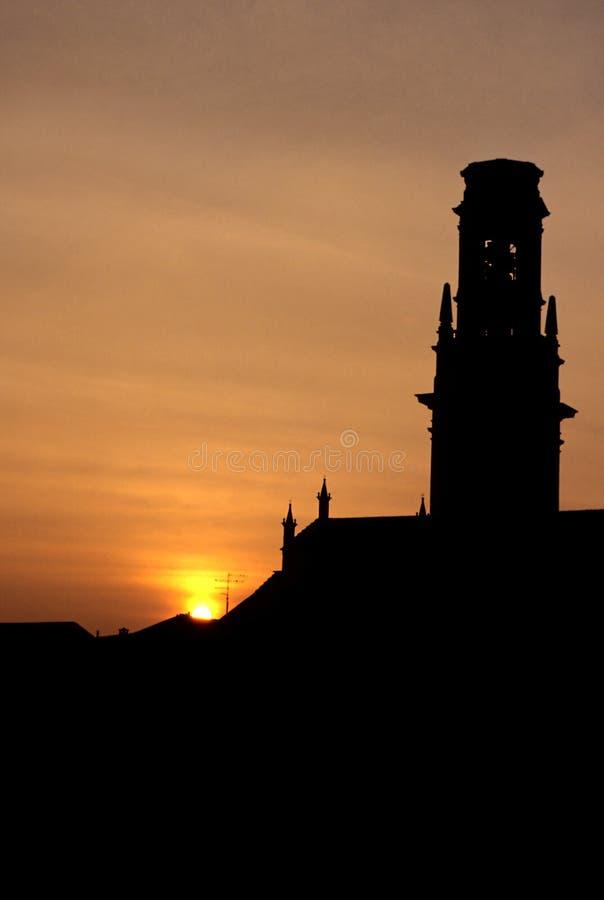 中央寺院意大利维罗纳 免版税库存照片