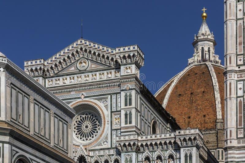 中央寺院-佛罗伦萨-意大利 图库摄影