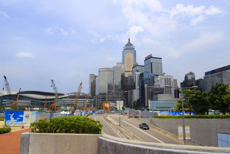 中央香港 图库摄影