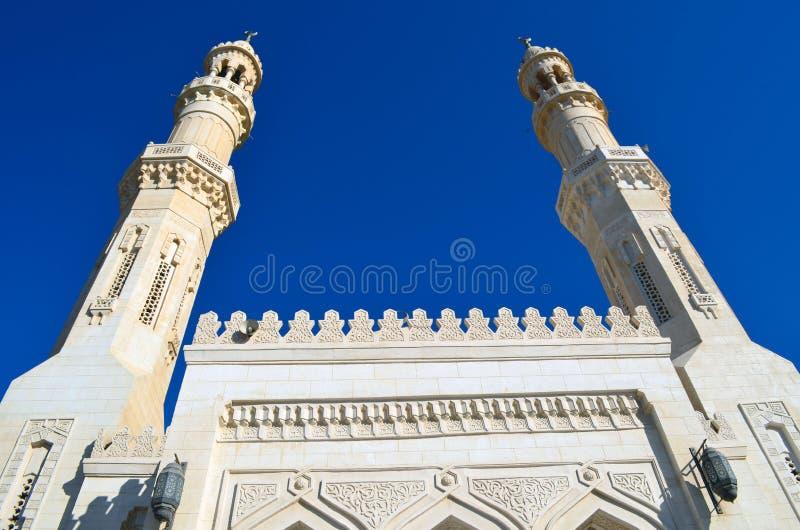 中央jami - Hurghada,埃及 免版税库存照片