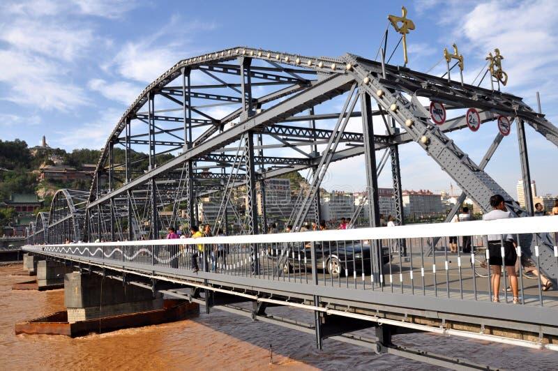 中山桥梁 库存照片