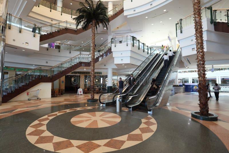 中心城市多哈购物中心卡塔尔 库存照片