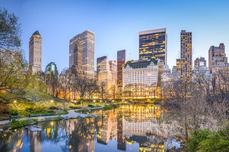 中心城市新的公园约克 免版税库存照片