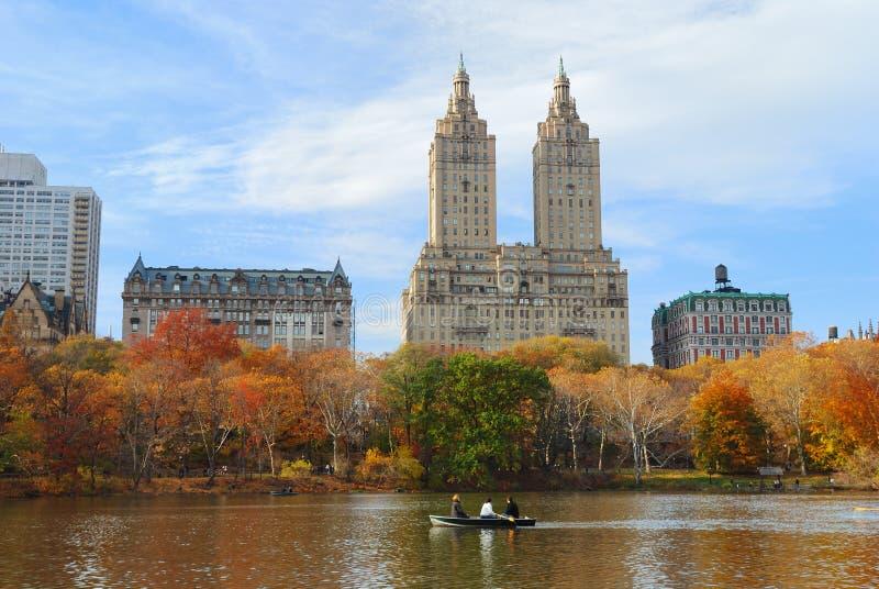 中心城市曼哈顿新的公园约克 免版税图库摄影