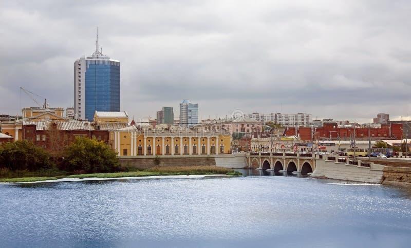 中心城市 库存图片