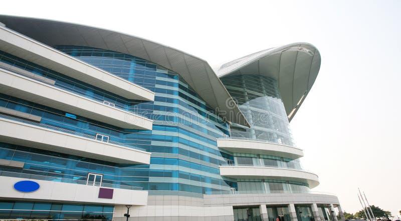 中心常规香港 库存图片