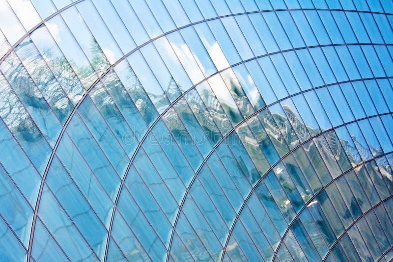 中心玻璃shopfront购物 库存图片