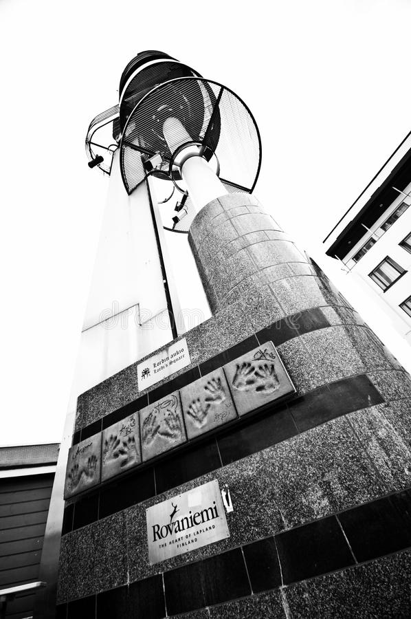 中心芬兰rovaniemi城镇 库存图片