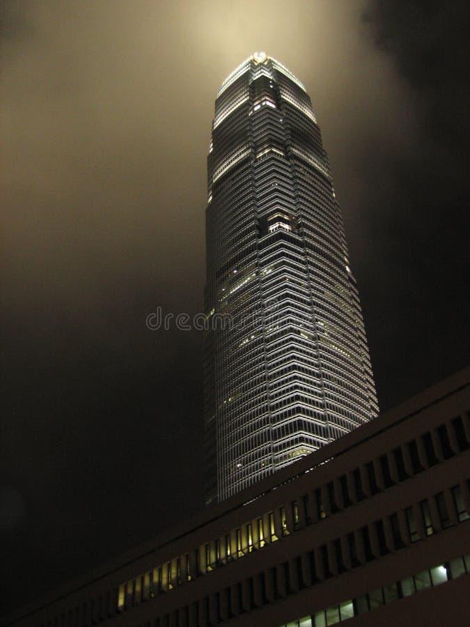 中心财务香港国际 免版税库存照片