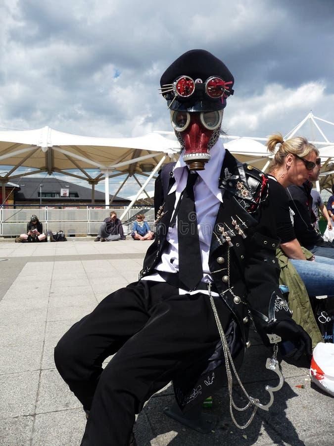 中心cosplay活动擅长londons 图库摄影片