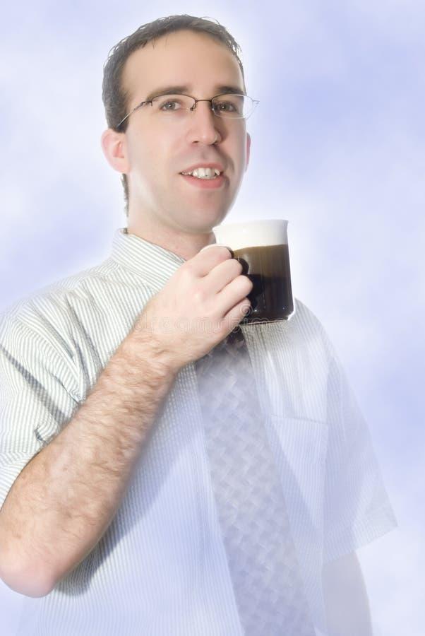 中断咖啡作梦 免版税库存照片