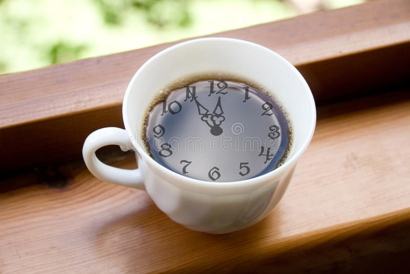 中断咖啡时间 免版税库存照片