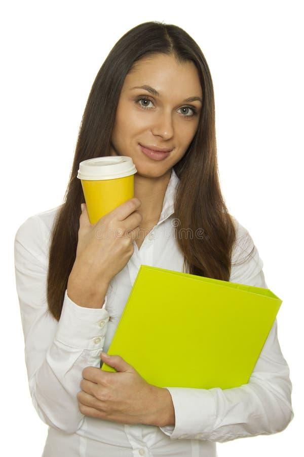中断咖啡 图库摄影