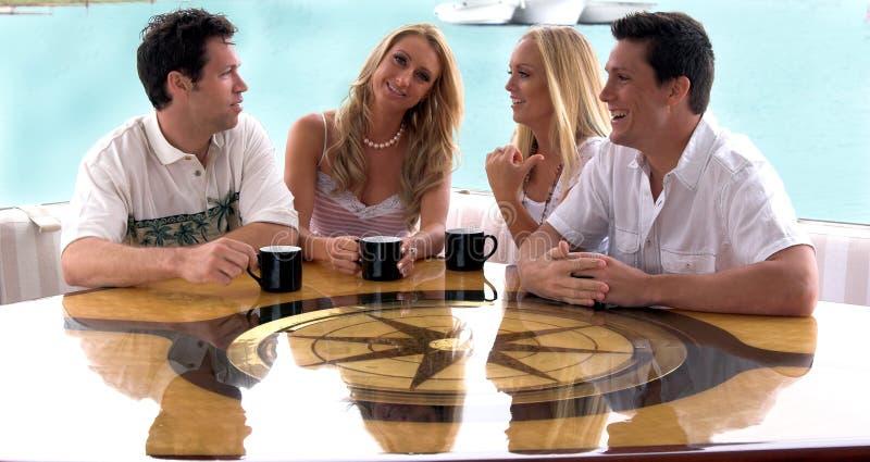 中断咖啡 免版税库存照片
