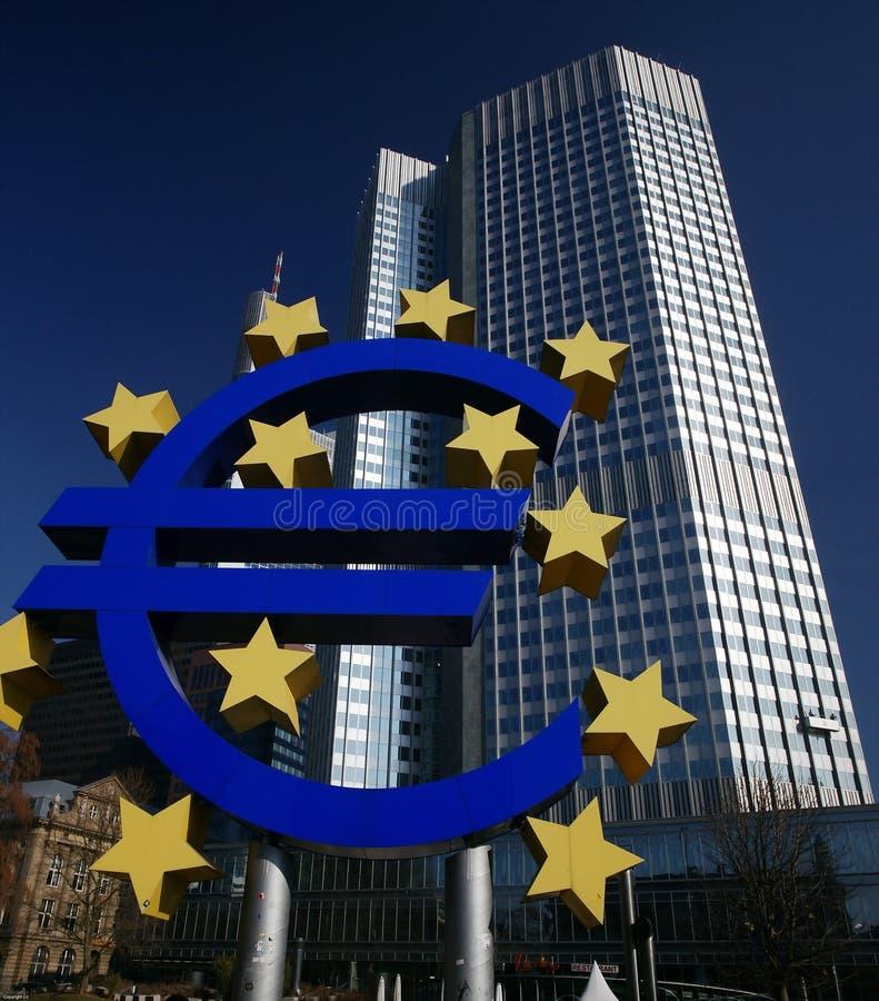 中欧的银行 免版税库存照片