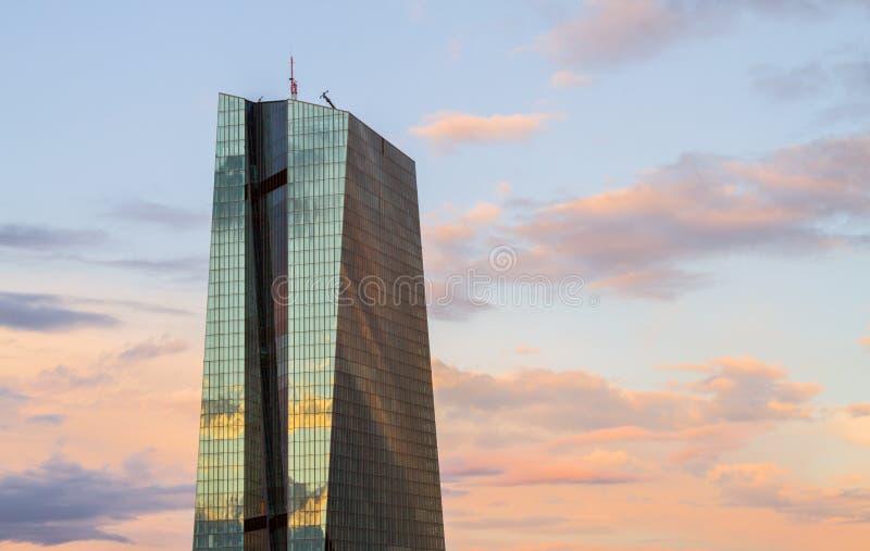 中欧的银行 库存图片