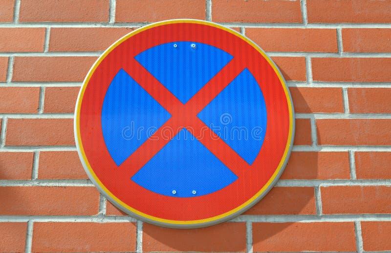 Download 中止禁止的路标是固定的在红砖墙壁上 库存照片. 图片 包括有 业务量, 不列塔尼的, 人们, 任何人, 墙壁 - 72361536