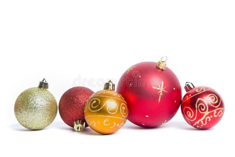 中看不中用的物品仍然圣诞节生活 免版税库存图片